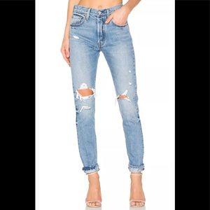 Women's Levi's 501 S Skinny Distressed Denim Jeans